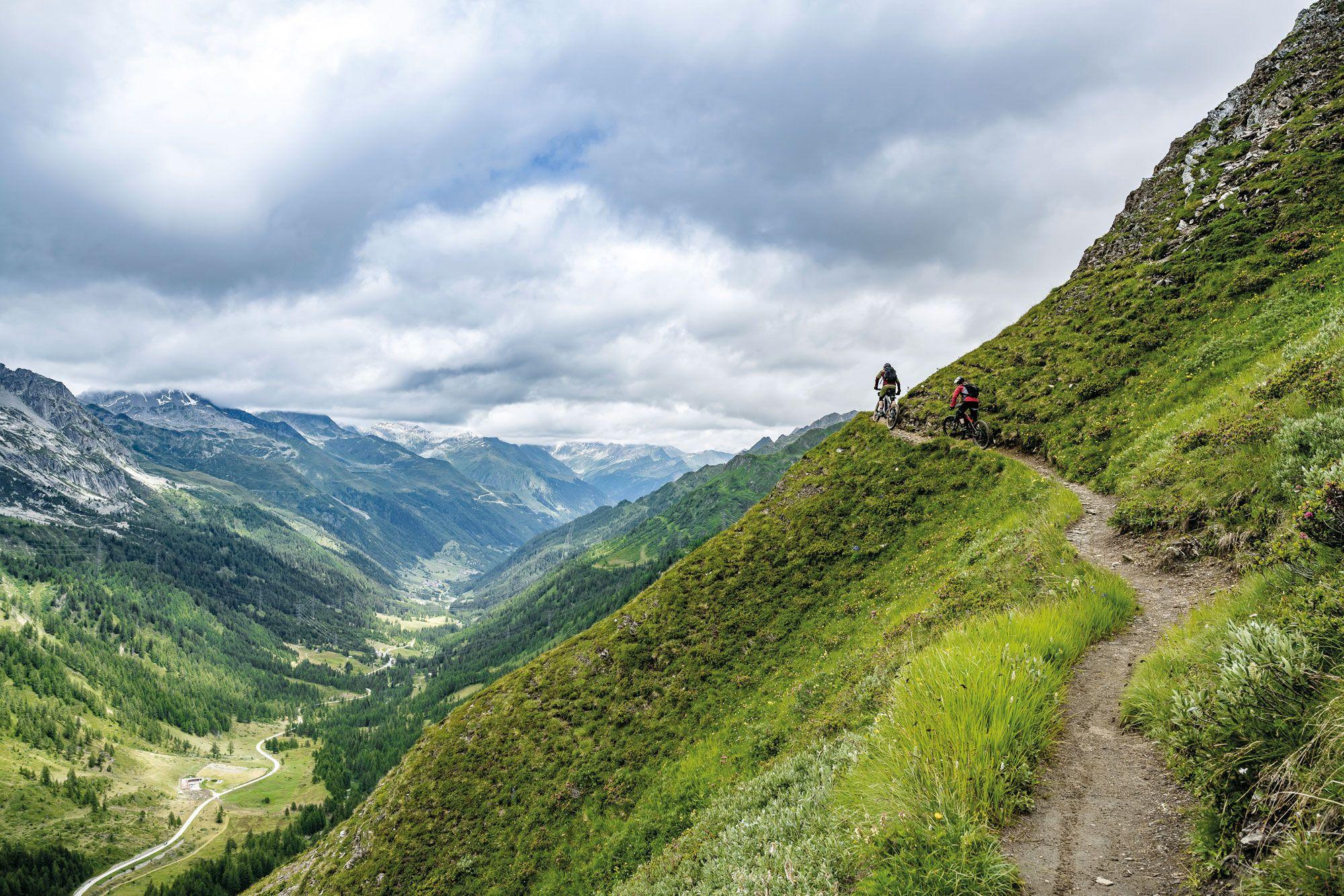 Schneller Doppelpass Schweizer Alpencross