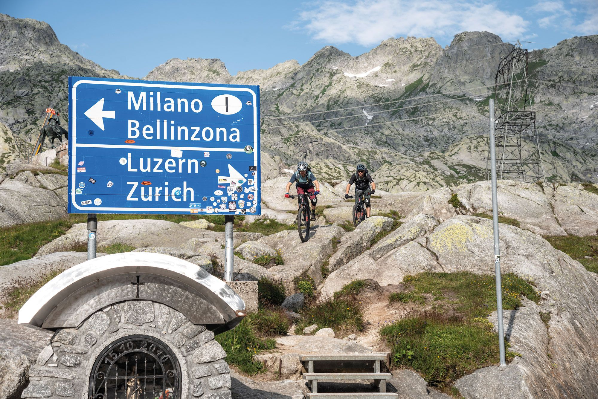 Route 65   Raue Trails im Alto Ticino