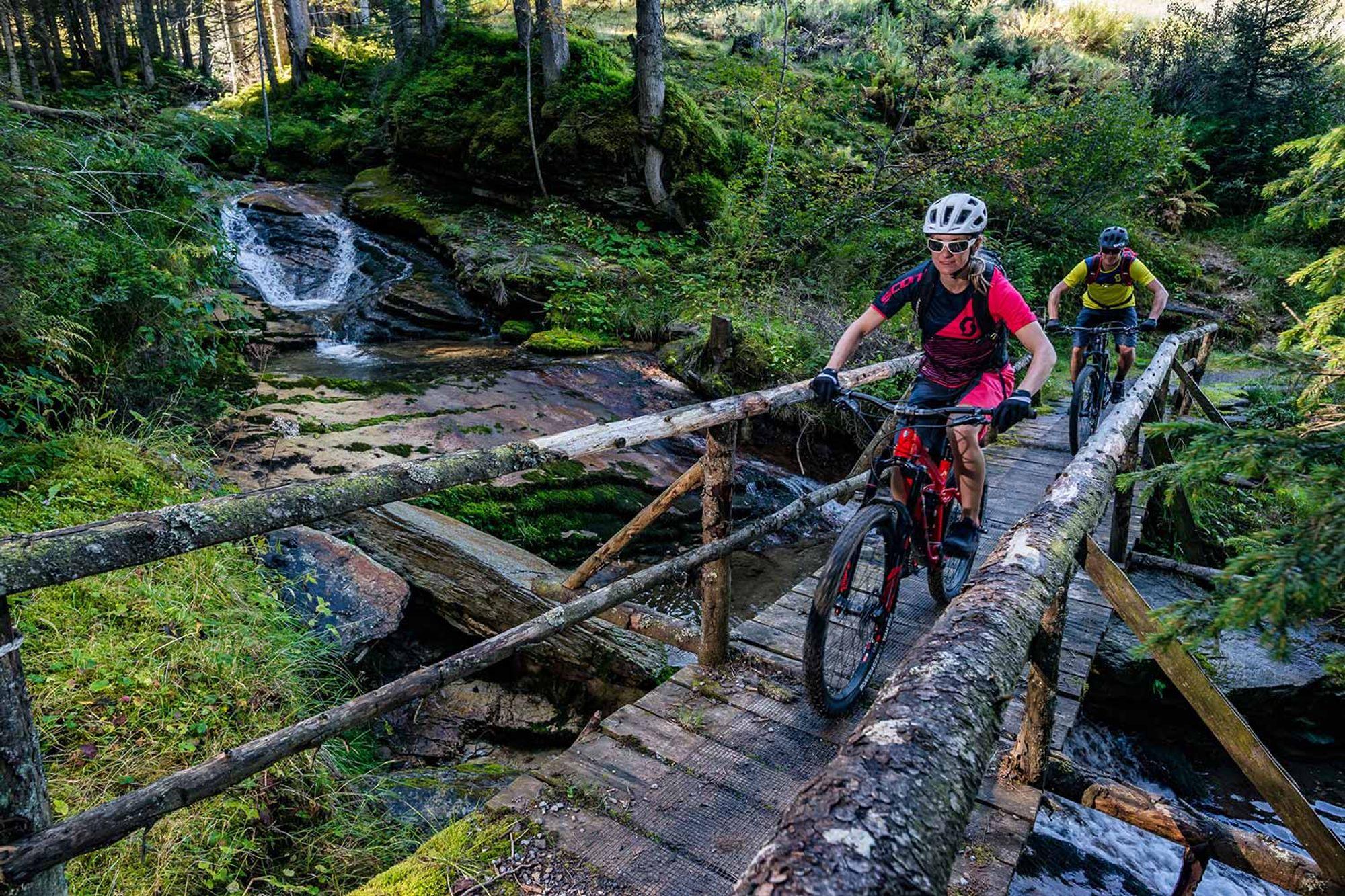 Kantonsrat stimmt zu:  St. Gallen soll eine Mountainbike Strategie entwickeln