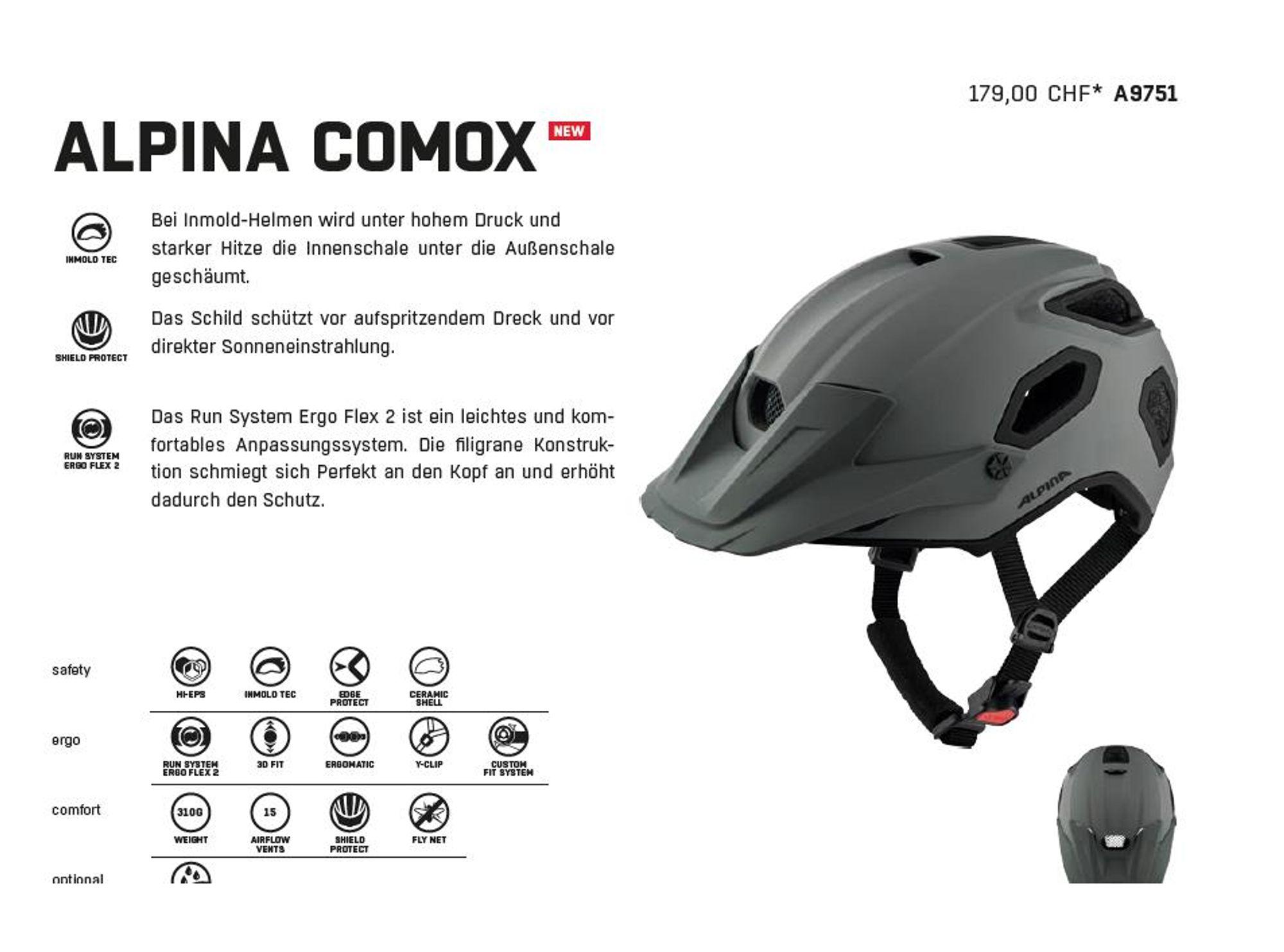 Trail-Offensive Neue Helme von Alpina