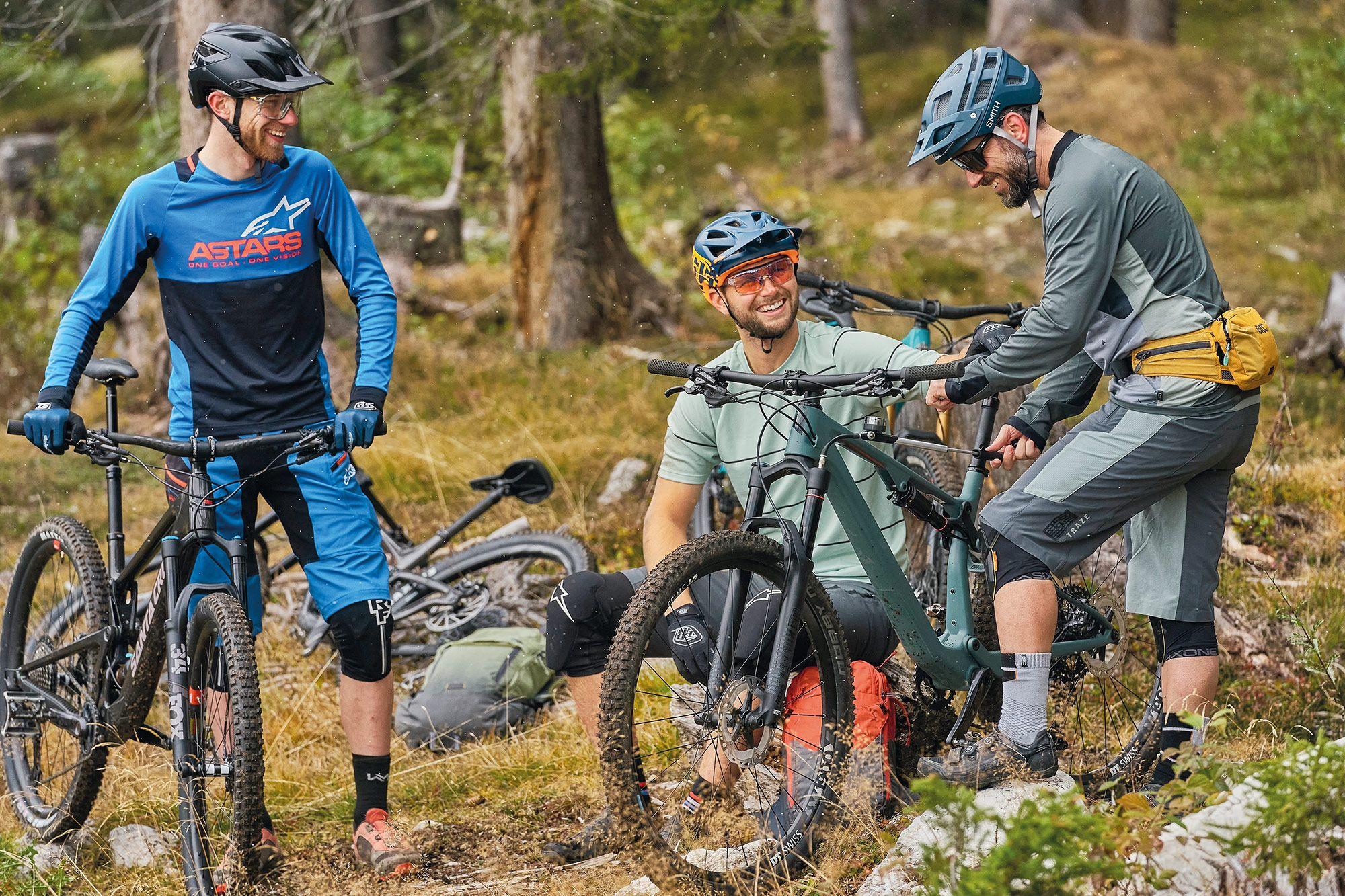 Biketest 11 Downcountry-Bikes