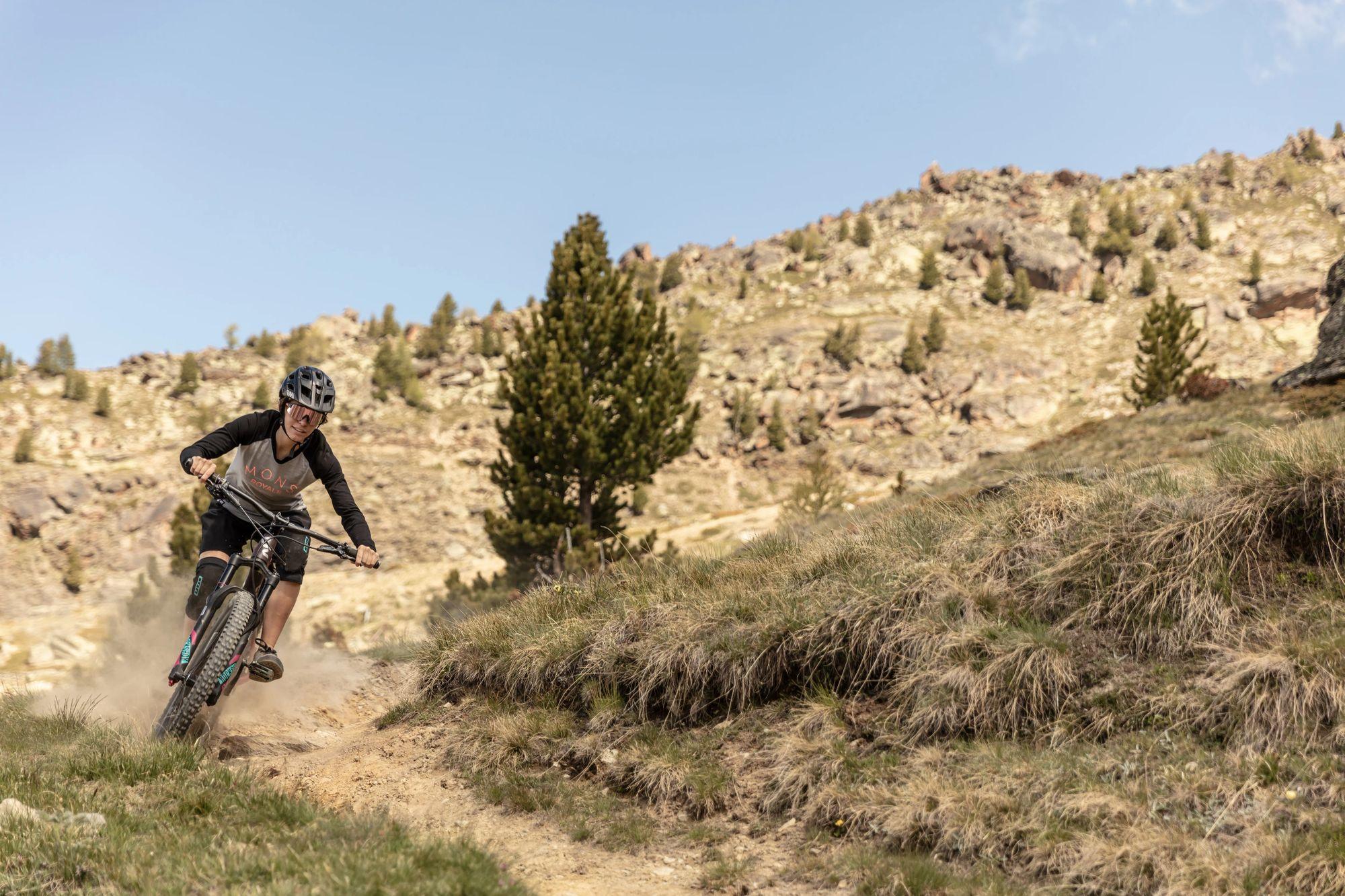 Neuer Bike Skills Park in Saas-Fee Drei neue Trails auf Kreuzboden