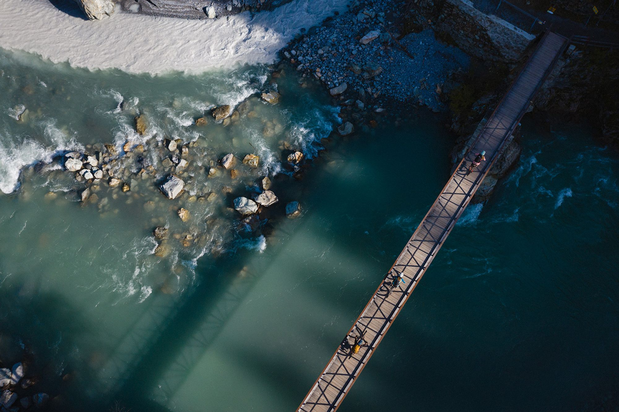 Engadin Scuol Zernez:   Alles im Fluss