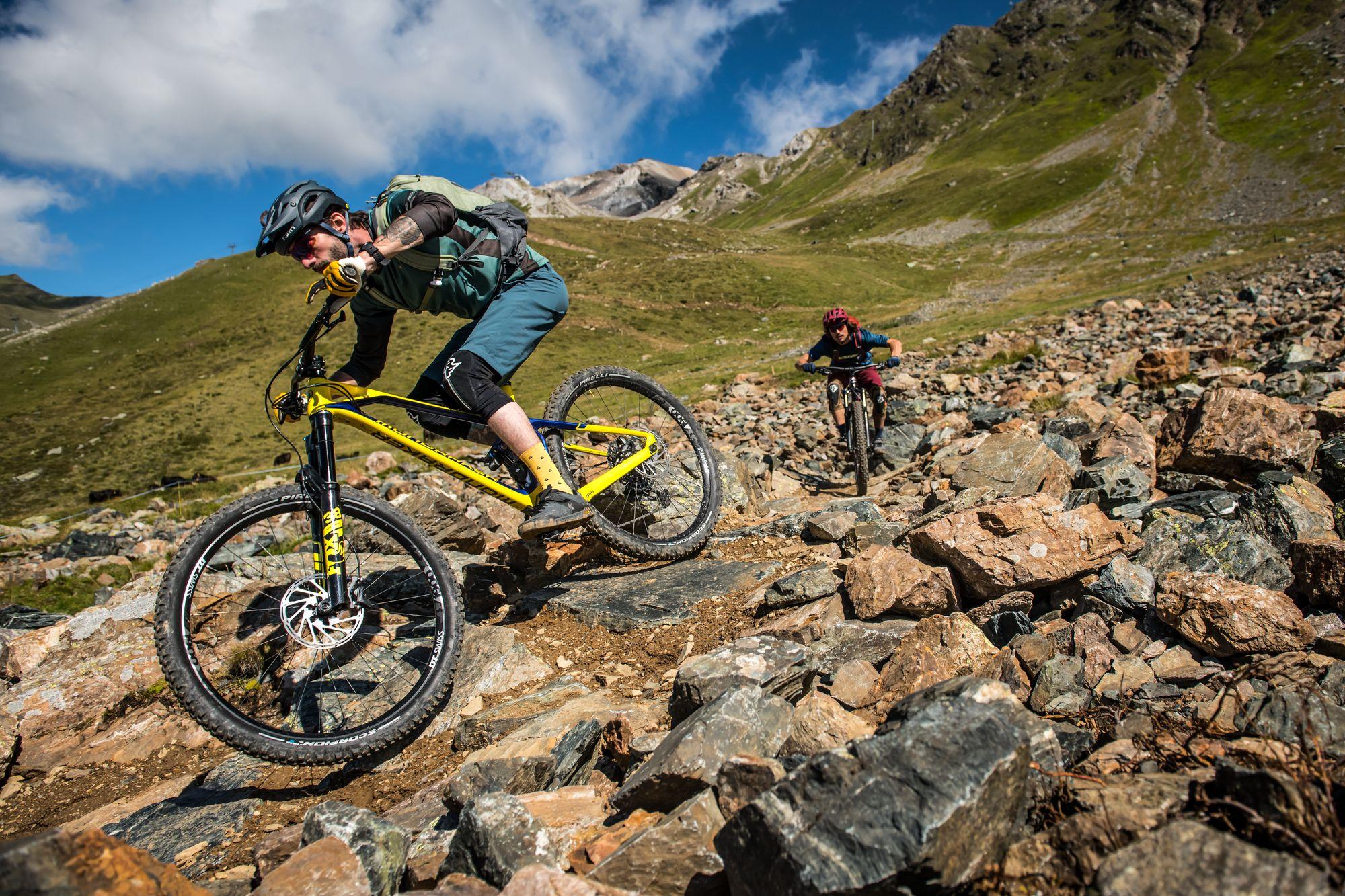 Trail-Zuwachs in Lenzerheide