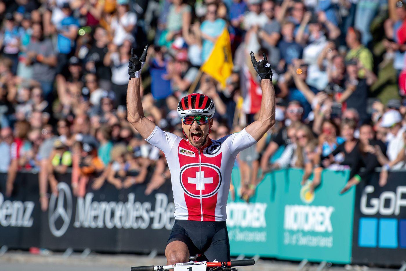 Nino Schurter - UCI MTB Worlds Championship Lenzerheide 2018