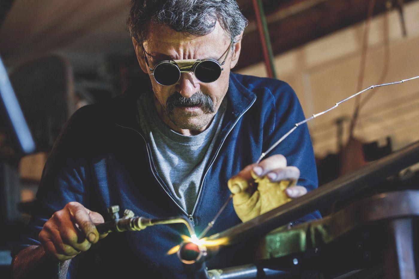 Tom Ritchey - Kreative US-Rahmenbau-Ikone