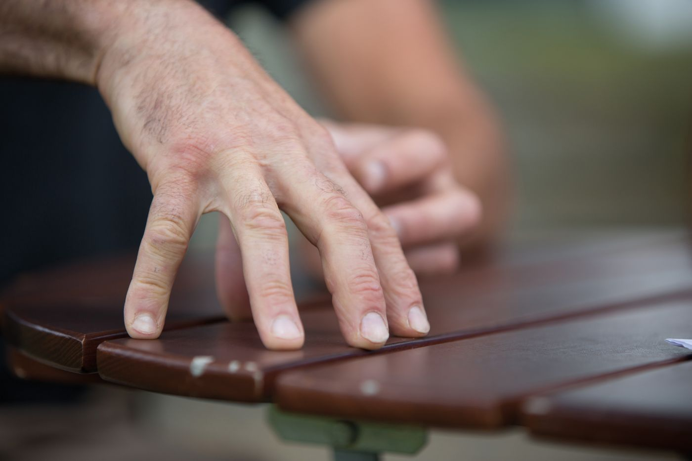 Tom Ritchey - Kräftige Arbeiterhände