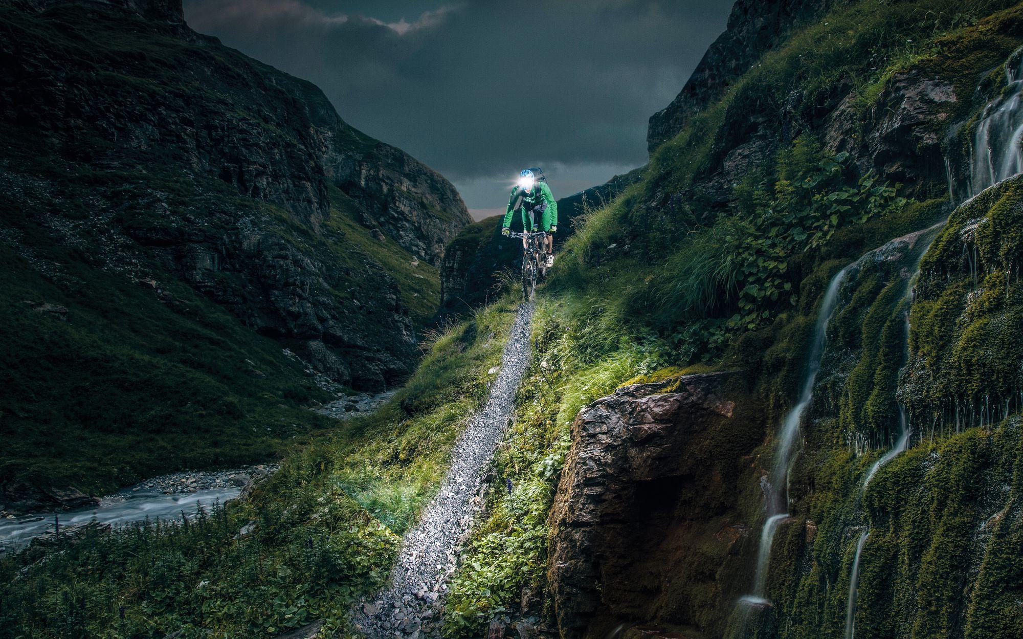 Nightride:   Tipps für die MTB-Beleuchtung