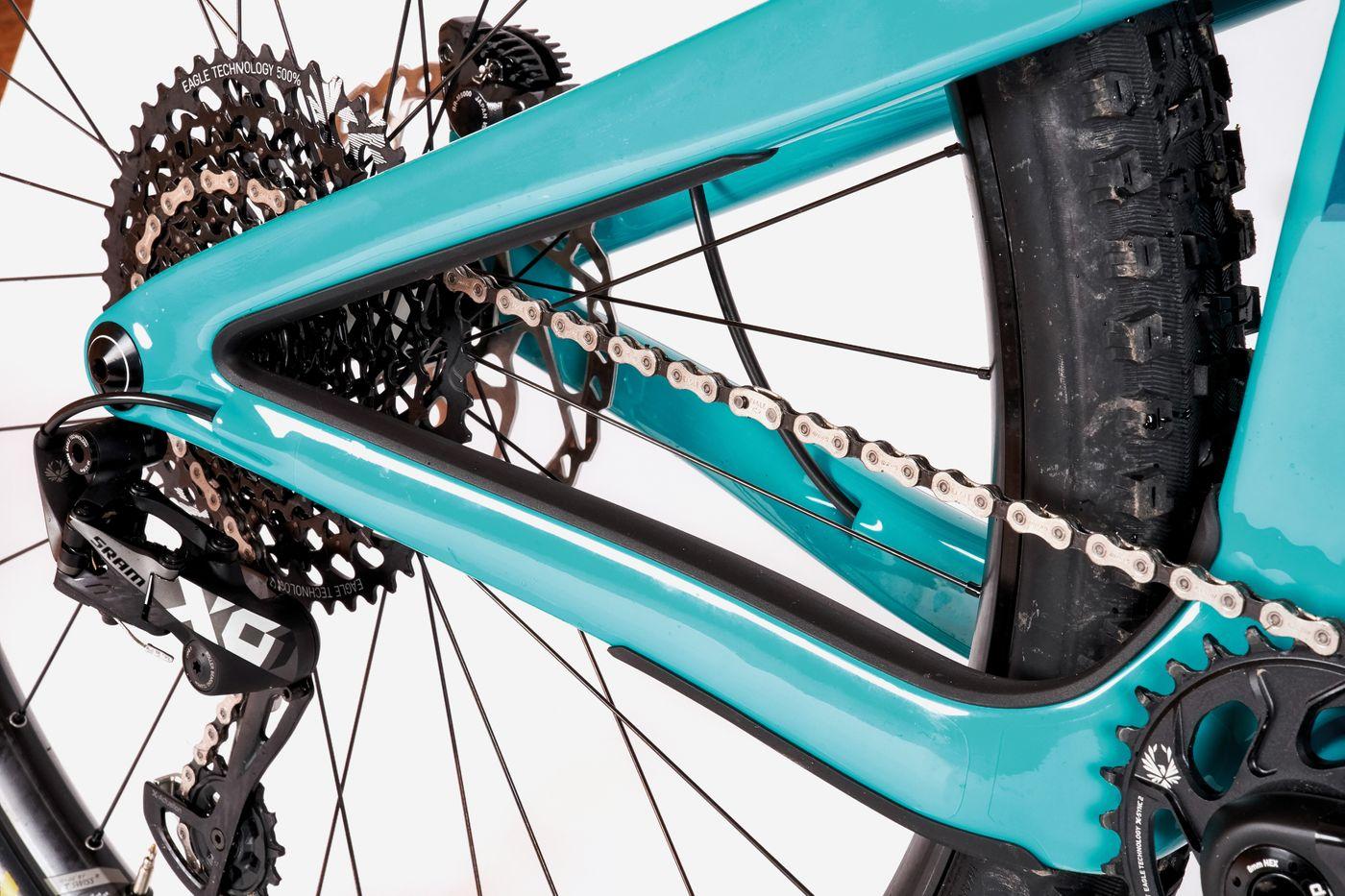 Yeti SB130 TURQ - Carbon Rahmen