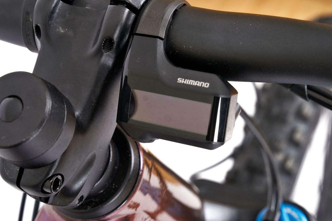BMC Trailfox AMP SX2 - Shimano Steps Display