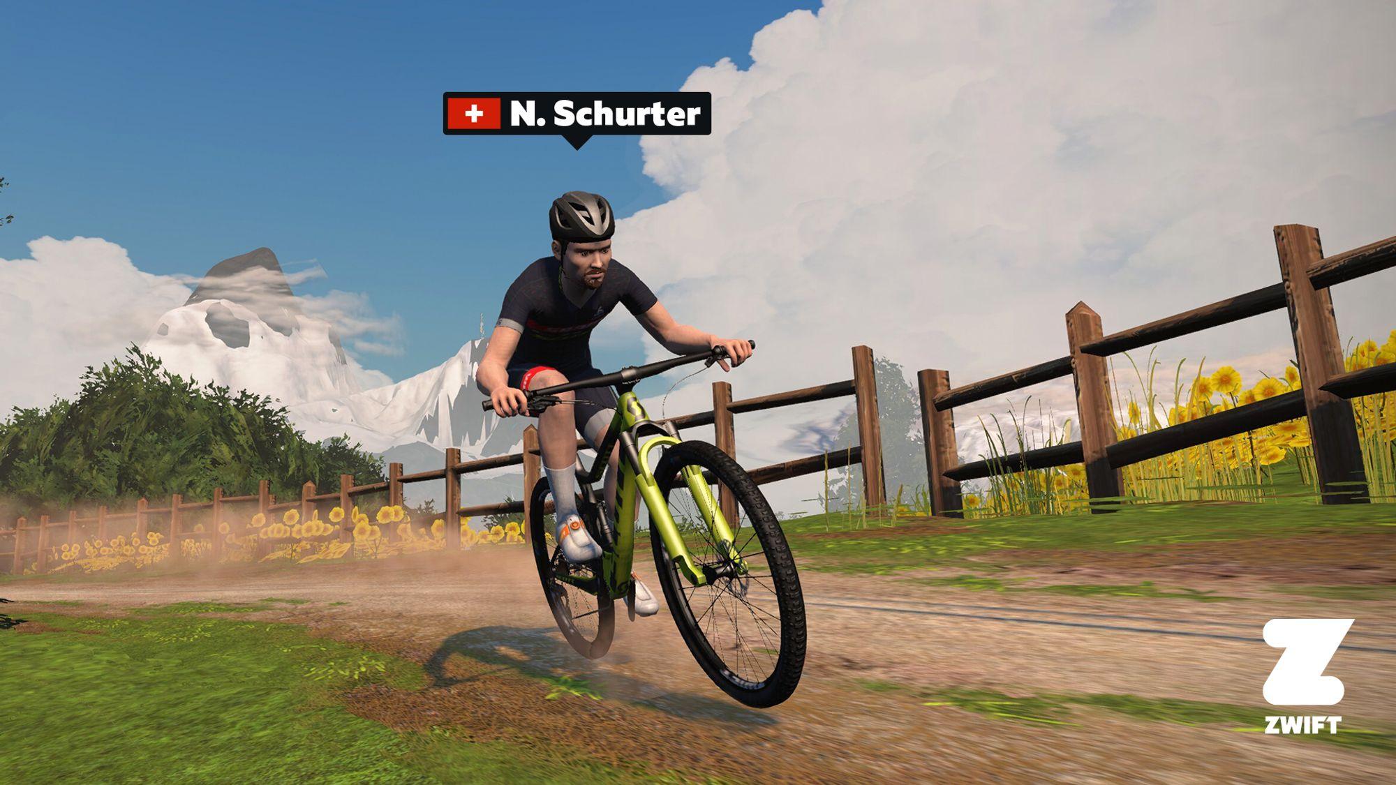 Scott-Woche bei Zwift: Digitaler Ride mit Schurter & Co.