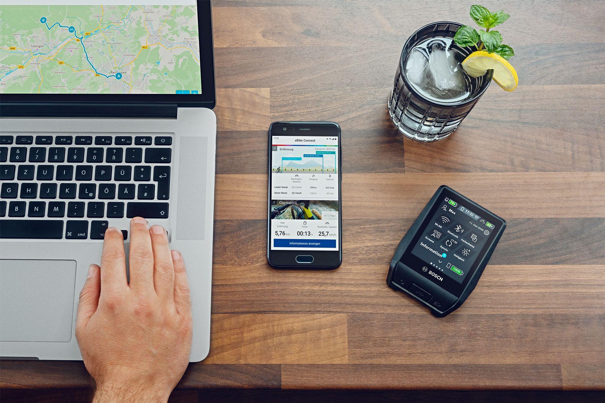 Bosch News 2021 Software-Update und smartes Display
