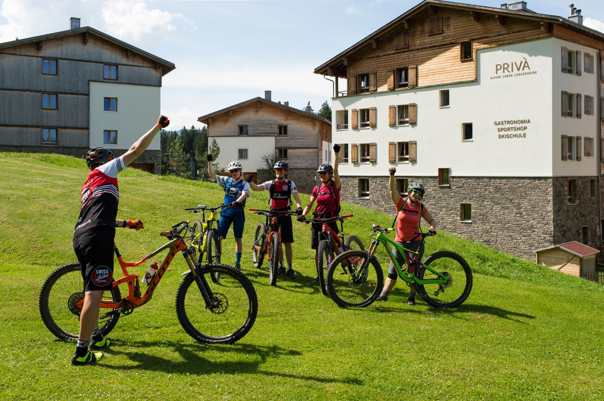 Swiss Bike School  bis Oktober in Lenzerheide aktiv