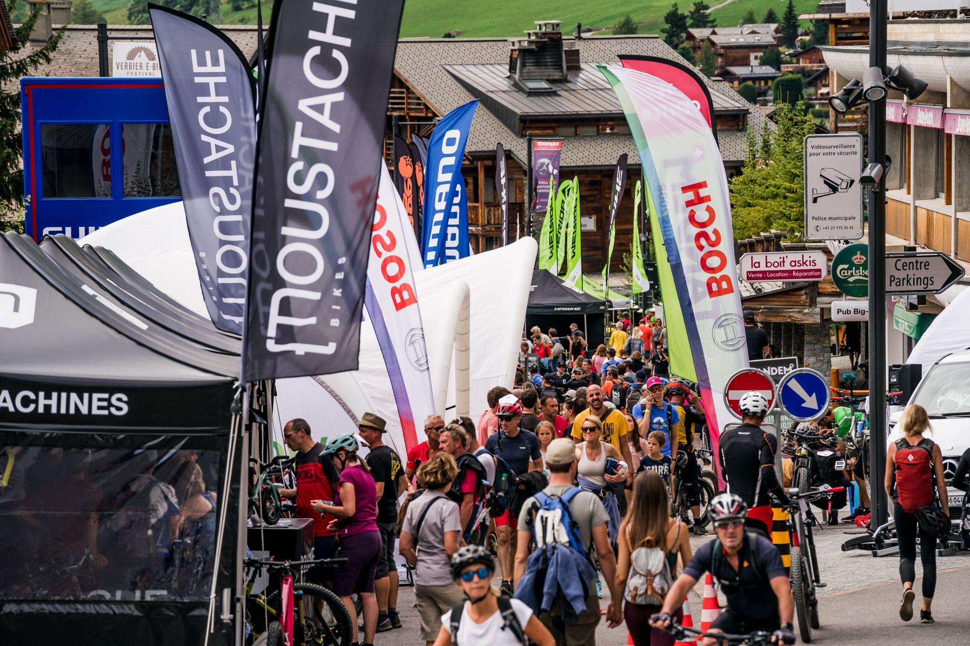 Verbier E-Bike Festival 13. - 16. August