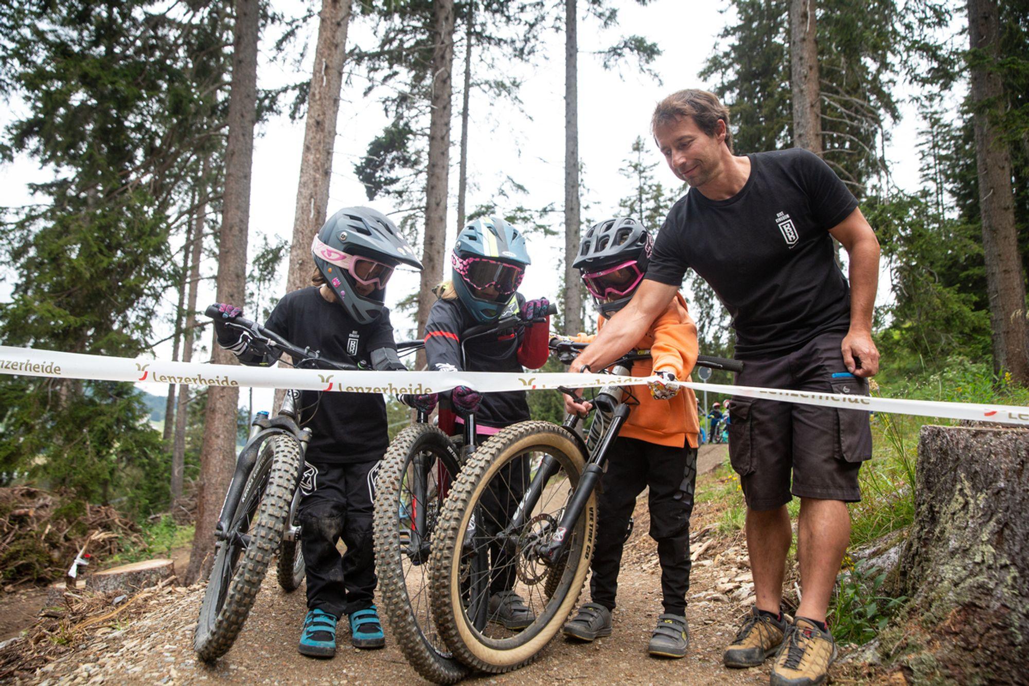 Bike Kingdom Lenzerheide Es wird für Familien und Kinder aufgerüstet